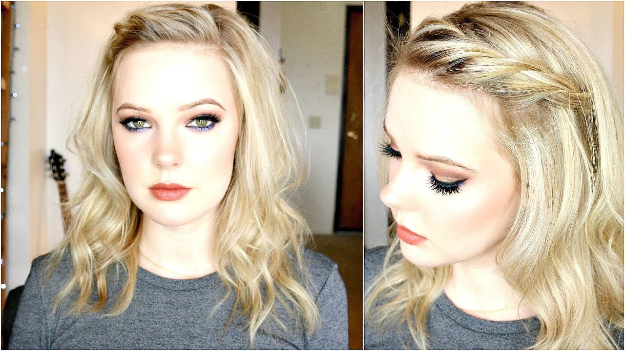 Hair Style Thin Hair: MODERN BEACHY WAVES + TWISTED BANGS TUTORIAL