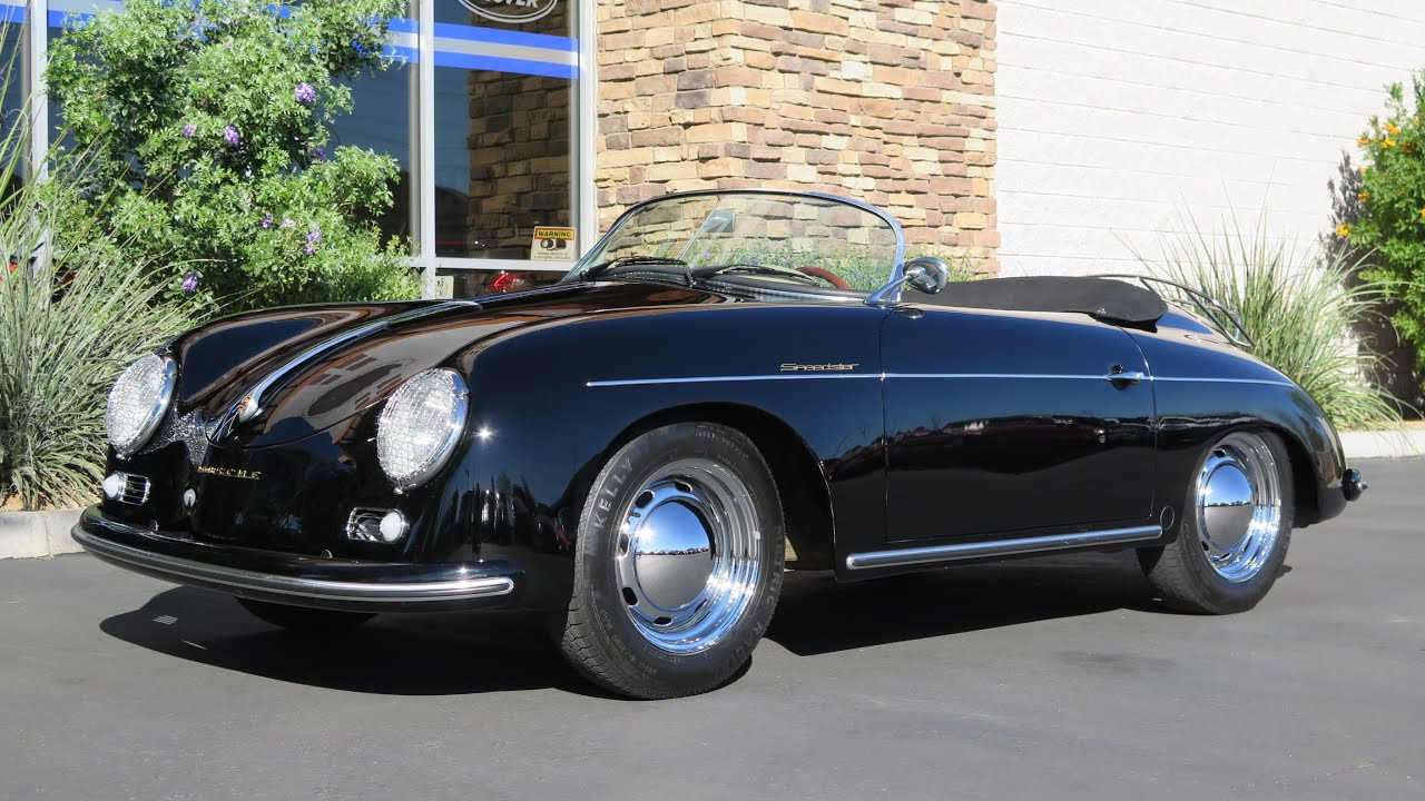 1957 Porsche 356 Speedster Youtube