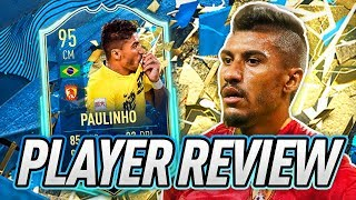 EXTINCT AT 950K?! 🥶 95 TOTSSF PAULINHO PLAYER REVIEW! - FIFA 20 Ultimate Team