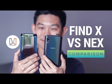 OPPO Find X vs Vivo NEX Comparison
