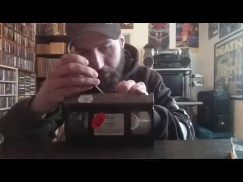 Removing permanent safety screw on your VHS tapes.