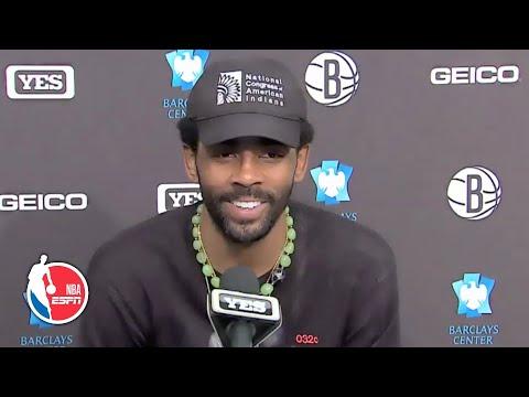Kyrie Irving on the Brooklyn Nets' win vs. the New York Knicks | NBA on ESPN