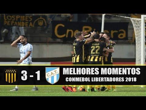 Peñarol 3x1 Atlético Tucumán - Melhores Momentos / Libertadores 2018