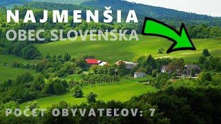 TOP 10 - Najmenších obcí Slovenska