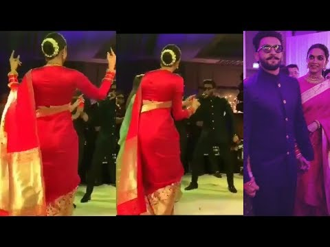 Deepika Padukone and Ranveer Singh dancing together at Kapil Sharma _Ginni Chatrah Reception