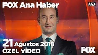 Stadyumda çocuklara yüzlerce oyuncak atıldı!  21 Ağustos 2018 FOX Ana Haber
