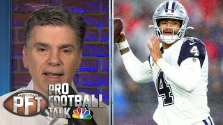 Dak Prescott, Dallas Cowboys re-open contract talks at combine | Pro Football Talk | NBC Sports