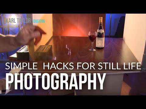 Product Photography, still life photography HACK by Karl Taylor