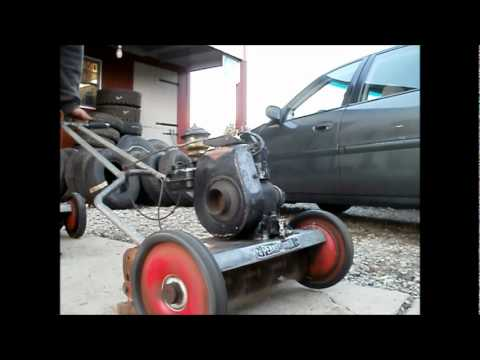 Start Up Of 2 50 S Briggs Amp Stratton Engines On Old Reel
