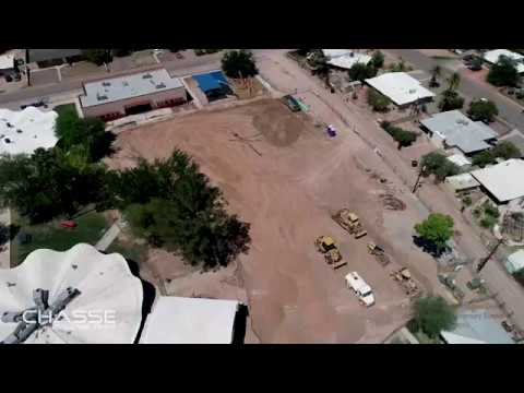 Walter Douglas Elementary School Construction Progress on July 27th, 2019