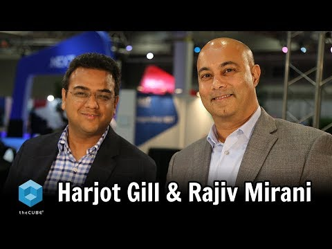 Harjot Gill & Rajiv Mirani, Nutanix | Nutanix .NEXT 2018