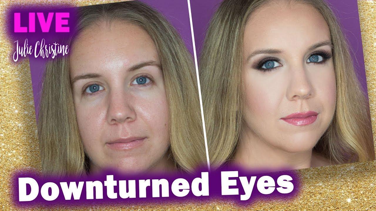 Makeup For Downturned Eyes Smoldering Smokey Eye Rosy Lips Cheeks