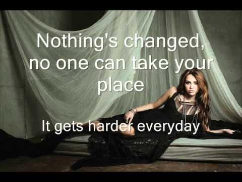 Miley Cyrus - Stay (lyrics)