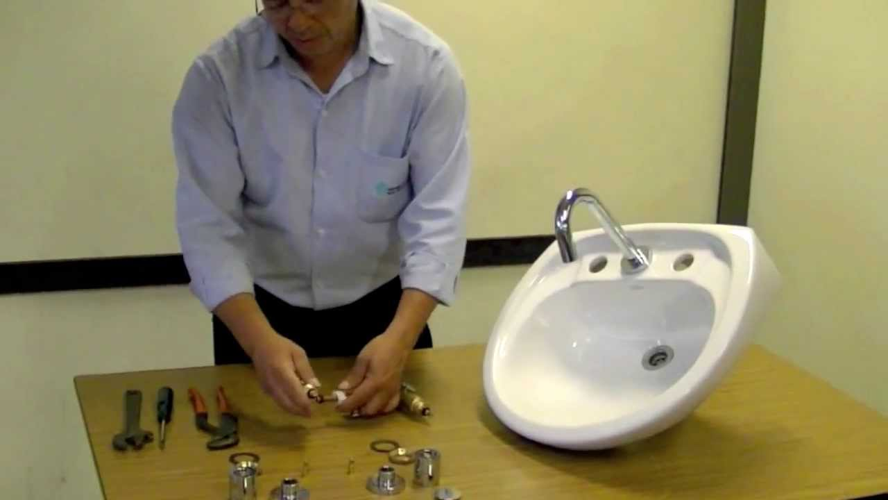 Instalaci n lavatorio l nea oregon youtube for Desague bidet