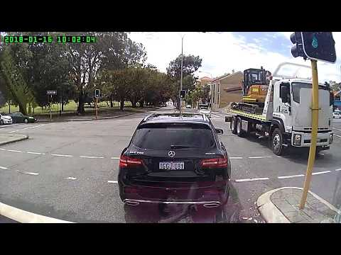 Driving wrong way on a one way Road in Perth City