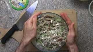 Whole Wheat Pasta Salad With Feta Recipe Demonstration