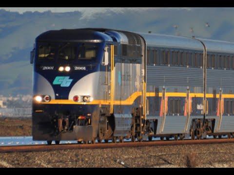 Amtrak California Capitol Corridor Train
