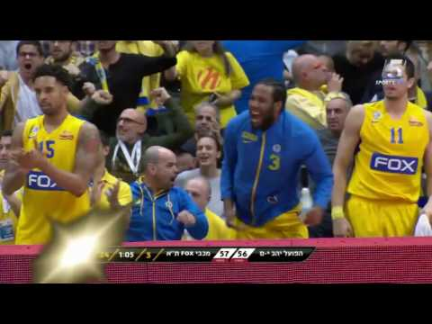 Highlights: Maccabi FOX Tel Aviv - Hapoel Jerusalem 82:68