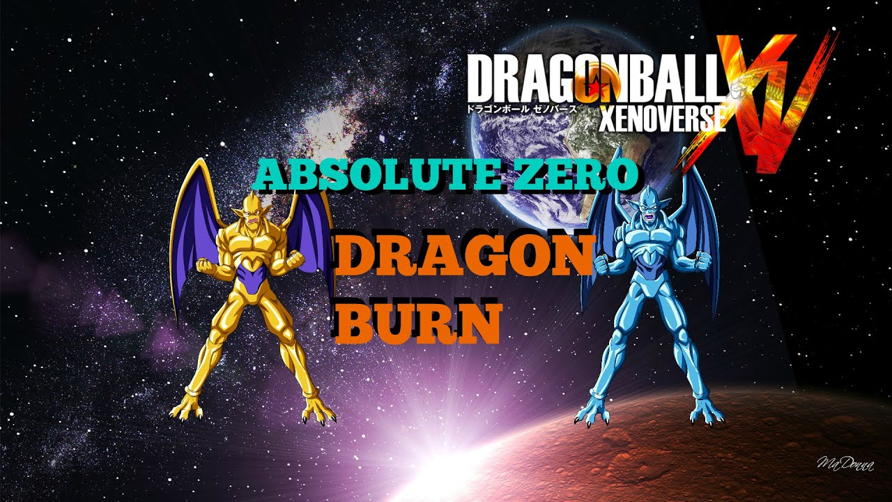 dragon ball xenoverse how to get absolute zero and dragon burn