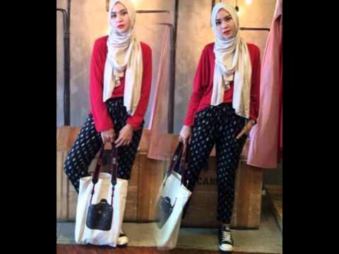 Fashion Hijab Terbaru Zaskia Adya Mecca Trend 2015 Youtube