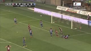 ナビスコカップ予選リーグ第2節 ヴィッセル神戸×モンテディオ山形のハイ...