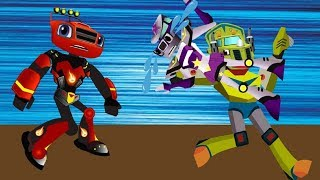 Blaze and The Monster Machines The Thief Kidnapped Starla Full Episodes! Blaze Monster Trucks