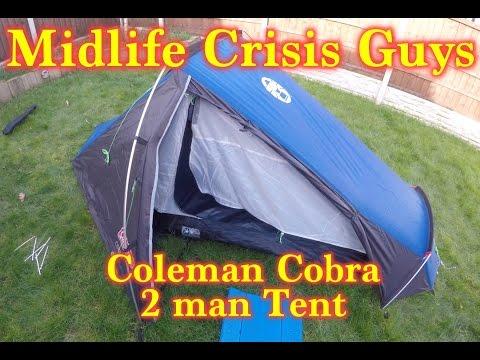 Coleman Cobra 2 Man tent & Coleman Cobra 2 Man tent - YouTube