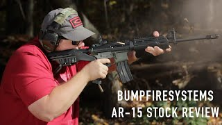 Bump Fire Systems AR-15 Stock - Cheap Thrills, No Frills