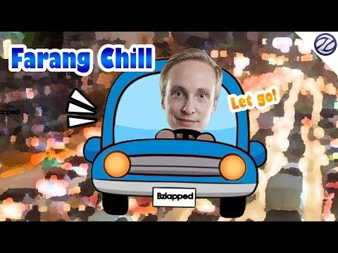 Farang Chill IRL Stream While Driving in Bangkok