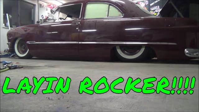 Bagged 1950 Ford Shoebox Redoing The Ridetech Coolride