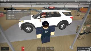 Vehicle Pursuit Mexico US Border (Roblox)