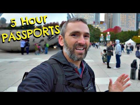 How To Get An EXPEDITED PASSPORT | How We Got A FREE HOTEL STAY In Chicago!