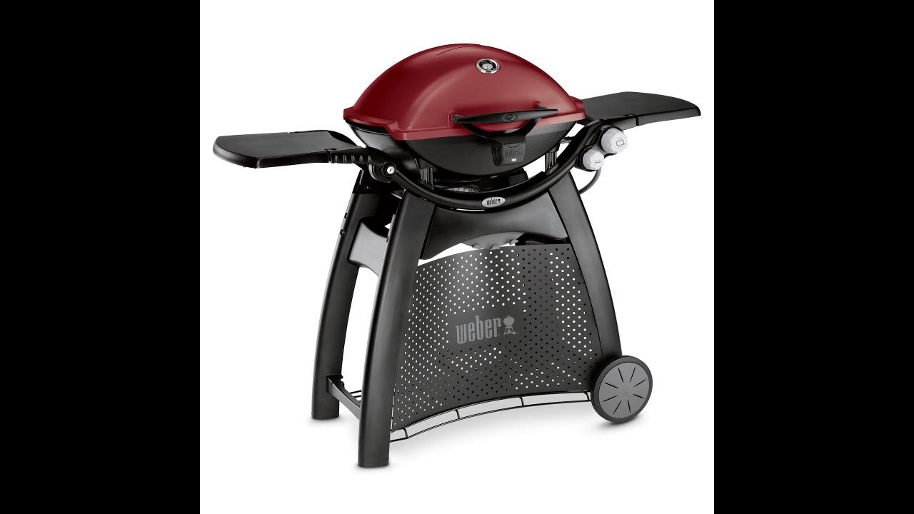 weber gas grill q maroon