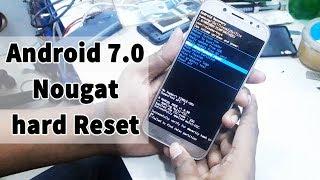 видео Как сделать Hard reset на Android 7 Nougat