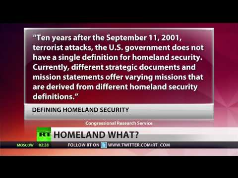 What does 'Homeland Security' even mean?