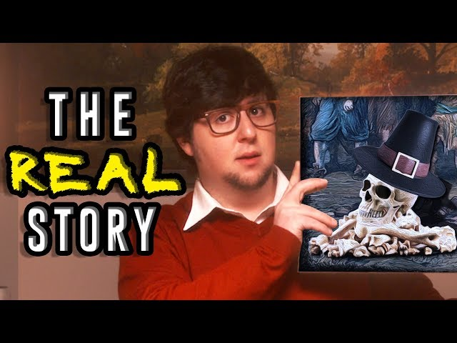 The REAL Story of the Pilgrims - JonTron