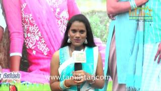 Anitha At Alillatha Oorla Annanthan MLA Movie Launch