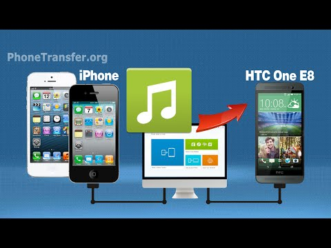 How to Sync iPhone Music with HTC One E8, Copy Songs from iPhone to HTC One E8