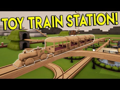 TOY TRAIN PASSENGER HAULING & GRAND STATION! - Tracks- The Train Set Game Gameplay - Toy Train