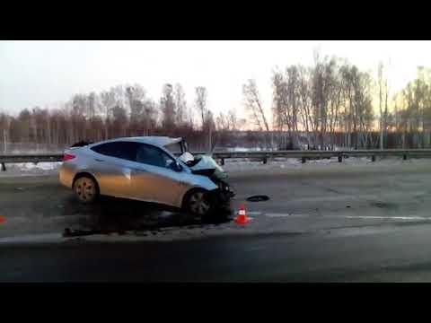 ДТП на 58 км автодороги «Западный обход г  Челябинска»