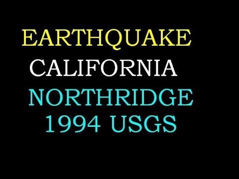 California Earthquake Northridge / Fillmore Area 1994 USGS