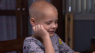 Families unite over fight for childhood cancer research