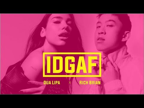 Dua Lipa X Rich Brian X Diablo - IDGAF M/V  [ Lyric Video ]