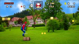 Real Life Super Mario - Black Forest Edition - Motion Graphics