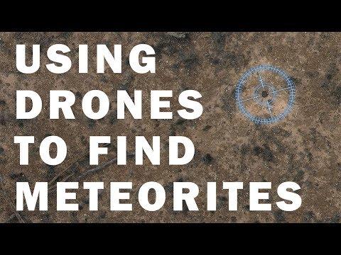 14,000 Megapixel Map - Drones Discover Meteorite
