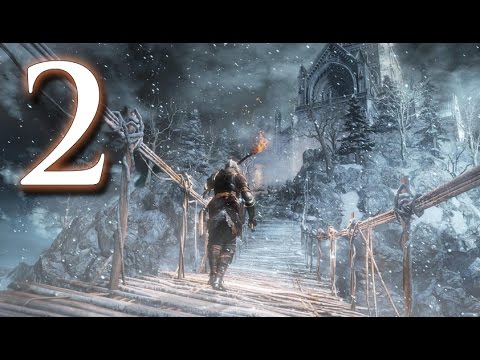 Let's Play Dark Souls 3: Ashes of Ariandel (#2) - All Along The Watchtower