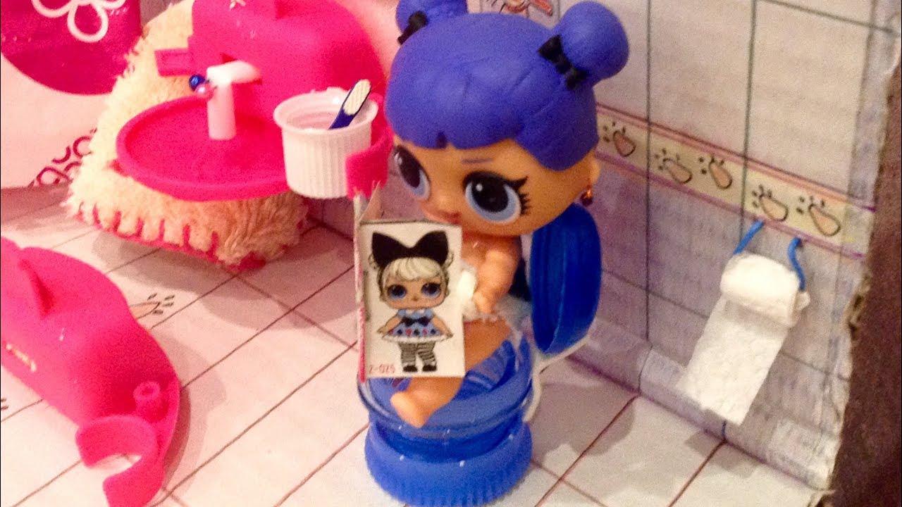 Туалет для кукол своими руками фото 934
