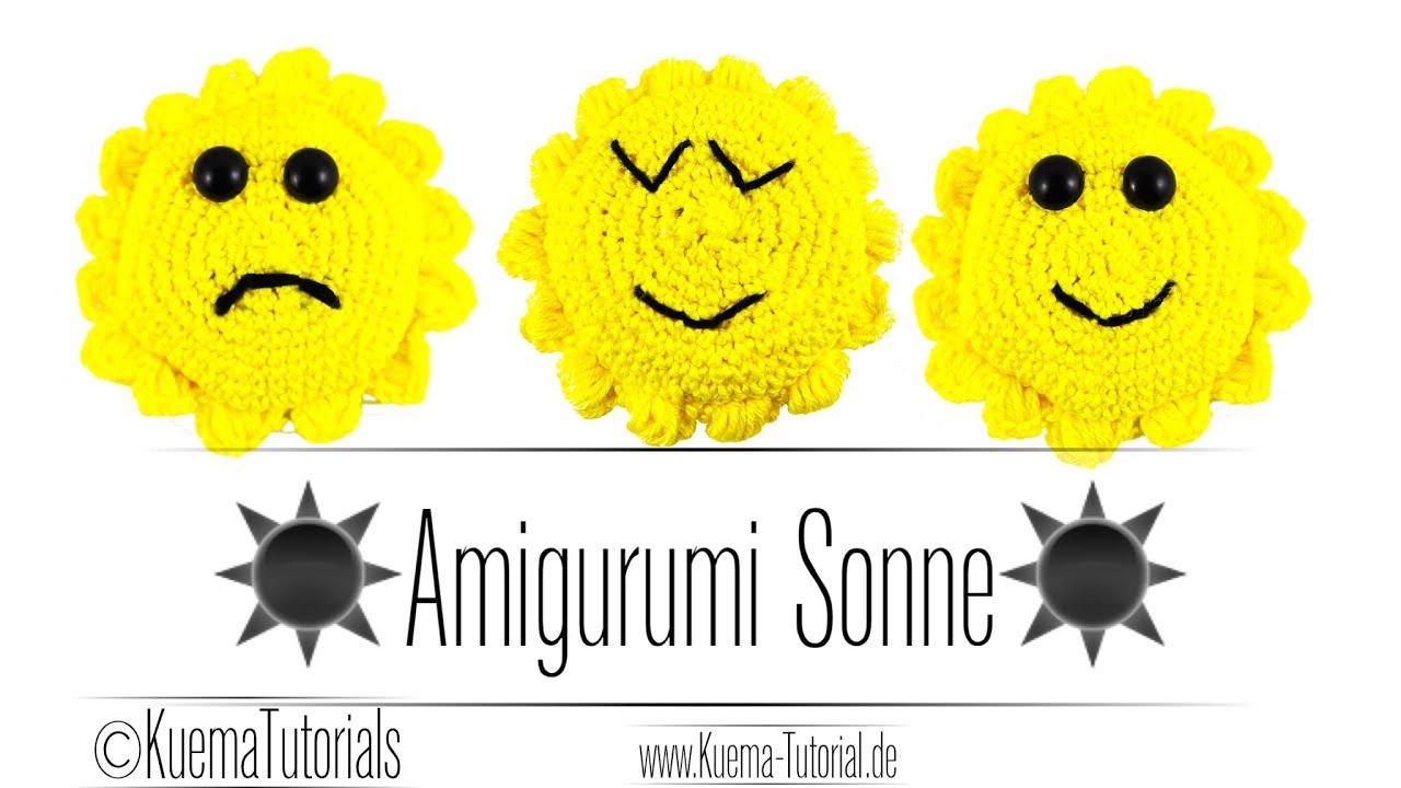 Amigurumi Sonne Sun Häkeln Youtube