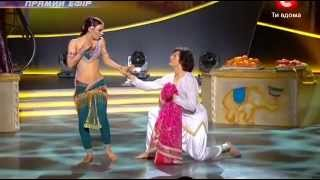 SYTYCD 2012 Ukraine - Indian disco. Aneela - Mani mani mane