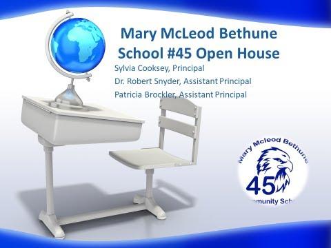 Mary McLeod Bethune School 45 Orientation Night